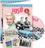 24028 1958 DVD CARD DVDCARD BIRTHDAY GREETING VISUAL HISTORY OF A SPECIAL YEAR