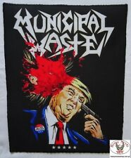 Municipal Waste Dump Trump Shooting Sublimated Backpatch Rückenaufnäher Aufnäher