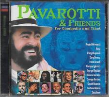 "EURYTHMICS  SKUNK ANANSIE  GEORGE MICHAEL  - RARO CD "" PAVAROTTI E FRIENDS """