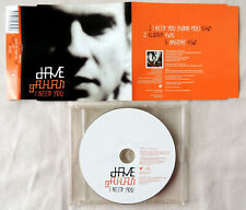 """Dave Gahan ‎– I Need You"" - Maxi - Single"