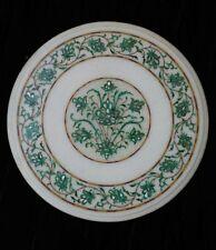Marble Coffee Table Top Malachite Pietra Dura Handmade Decorative Home Furniture
