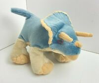 TRICERATOPS DINOSAUR SOFT PLUSH TOY 30CM STUFFED ANIMAL BY WILD REPUBLIC
