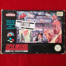 Super Nintendo - SNES ► Super WrestleMania WWF ◄ OVP | PAL