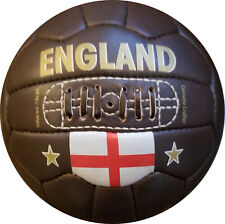 England - Vintage Leather Soccer Ball 1966 -- 100% leather   TOP SELLER