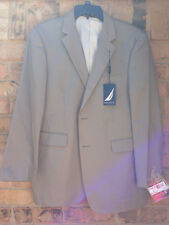 NWT Men Nautica Classic Fit Twill Suit Separate Coat Wedding Size 44R $240