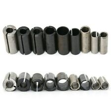 New Listingfor Milling Bit Tool Collet Chuck Driver Adapter For Reamers Metal 9 Pcs
