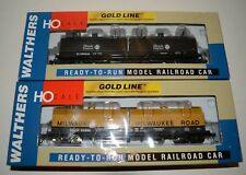 2 NEW in the box Walthers GOLD Line cushion coil cars, MILW and IC, LOT # 23