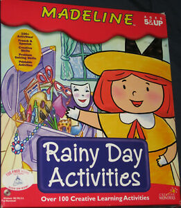 NEW Sealed MADELINE Rainy Day Activities PC or MAC Game - Free Shipping !