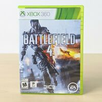 Battlefield 4 Game - Microsoft Xbox 360 With Case Tested Working