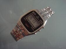 Vintage Omega Quartz LCD watch stainless steel Speedmaster