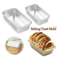 Large NON STICK LOAF TIN Baking Pan Bread Loaf Cake Oven Tray Tin Steel Tool *1