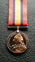 Collectable Queen Victoria South Africa Military Award Medal in copper