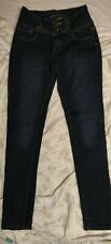 Crocker Women's Jeans - Push Up - Skinny - Style G112 Size 9 Inseam 28 Stretch