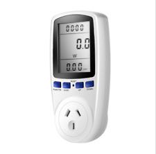 AU Power Meter Energy Saving Monitor Voltage Watt Electric Socket Analyzer 230V