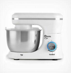 1000W Cream Food Stand Mixer 4.5 Litre Mixing Bowl Splash Guard Beater