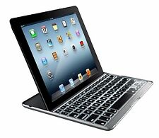 Zagg PROPLUS Funda Con Teclado retroiluminado Bluetooth Para Ipad 2/3/4 de Apple