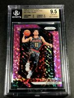 TRAE YOUNG 2018 PANINI PRIZM #78 FAST BREAK PINK ROOKIE /50 BGS 9.5 W/3 10 SUBS