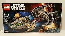 LEGO Star Wars Vader's Tie Fighter Advanced vs. A-Wing 75150 New and Sealed