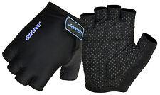 Giant Fingerless Cycling Gloves Bicycle Bike Cycle Slicon Anti Slip Half Finger M Black