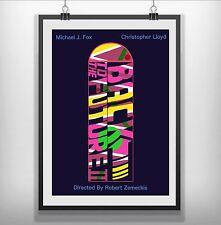 Volver Al Futuro mínima de película Movie Poster Print Minimalista
