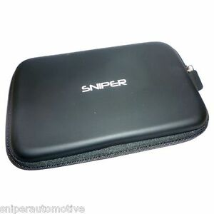 """Protective Carry Case for 7"""" Sat Navs GPS and Tablets"""