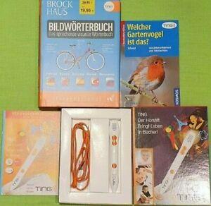 TING Stift inkl. Brockhaus Bilderwörterbuch & Gartenvögel