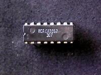 CA3052 - RCA Integrated Circuit (DIP-16)