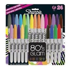 Sharpie 80's Glam Permanent Marker Fine Pens Assorted 24 Pack