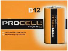 D Battery Procell PC1300 Professional Batteries By Duracell | Case Of 72 | QTY 6