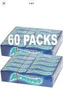 Wrigley's 60 Packets Chewing Gum AIRWAVES Sugar Free Wrigleys Packs