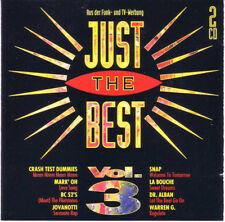 Just The Best Vol 3 Jovanotti Snap! Dr. Alban La Bouche Magic Affair Dj Bobo 2CD