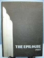 1933 Epilogue, Franklin and Marshall Academy, Lancaster, Pennsylvania Yearbook