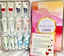 Body & Earth Hand Cream Gift Set Hand Creams w/ Shea Butter,*12pk* New d5
