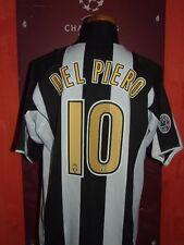 DEL PIERO JUVENTUS 2004.05 MAGLIA SHIRT CALCIO FOOTBALL MAILLOT JERSEY CAMISETA