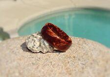or Women's ~ Handmade to Order Bronze Pearl Acrylic Resin Ring ~ Men's
