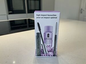 💕Clinique Gift Set High Impact Favourites - Full Size Mascara, Take The Day Off