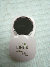 Vtg Mary Kay Brown Cake Eyeliner NOS Pink Pot Screw Lid Compact 1/16 Oz. Retro