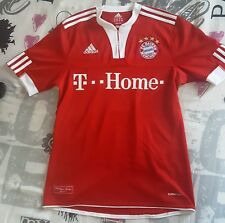 TONI 9 Bayer Monaco Germania Italia Original ADIDAS calcio maglia shirt jersey S
