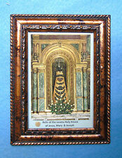 Relic Holy House of Loreto-The Holy Family-Our Lady of Loreto Relic Veil -Jesus