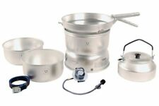 Trangia 25-2 GB Stove Alloy pans with Kettle & Gas Burner Ultralight Aluminium