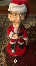"Bing Crosby Singing Santa 18"" - HLC Properties Global Icons 2001 - RARE"
