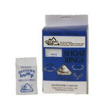Decker 2 Hills Hump Shoat Rings, #2, 100-Pack