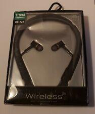 Bluetooth Wireless Headset Stereo Headphone Earphone Sport Universal Handsfree
