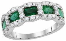 1.75ct Cartier 18k White Gold Diamond Band Ring