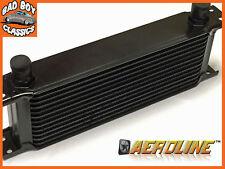 "AeroLine 15 Row Black Alloy Oil Cooler 1/2"" BSP Fast Road & Race UNIVERSAL"