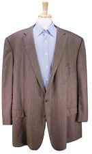 ERMENEGILDO ZEGNA Made for BB King Brown Herringbone Sportcoat Blazer US 58L