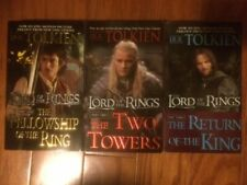 Lord of the Rings Trilogy set Tolkien 1 2 3 PB lot Fellowship Tower Return