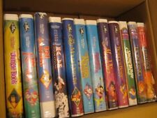 Vintage Disney VHS Movies- Lot of 12 Tapes -All in Original Cases -One Low Price