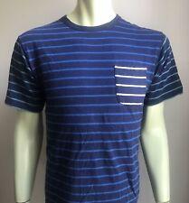 Burkman Bros. T-shirt, Large, Taylor Stripes, Exc Condition