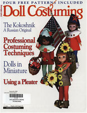 Doll Costuming September 2004 Betsy McCall, Bleuette Smocks Prof Techniques